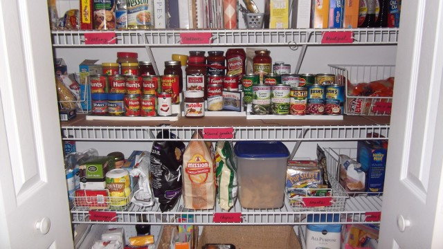 Pantry Shelving Organization Tips
